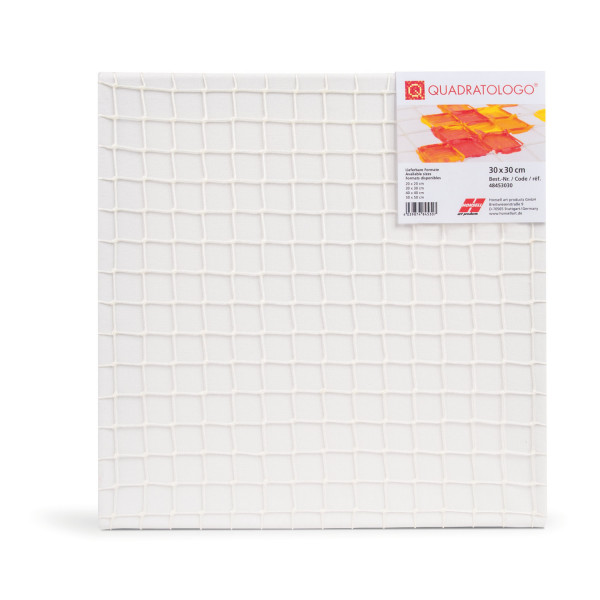 Keilrahmen-Quadratologo 40 x 40 cm