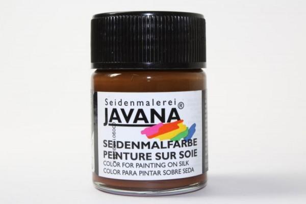 JAVANA Seidenmalfarbe, 50 ml, Braun