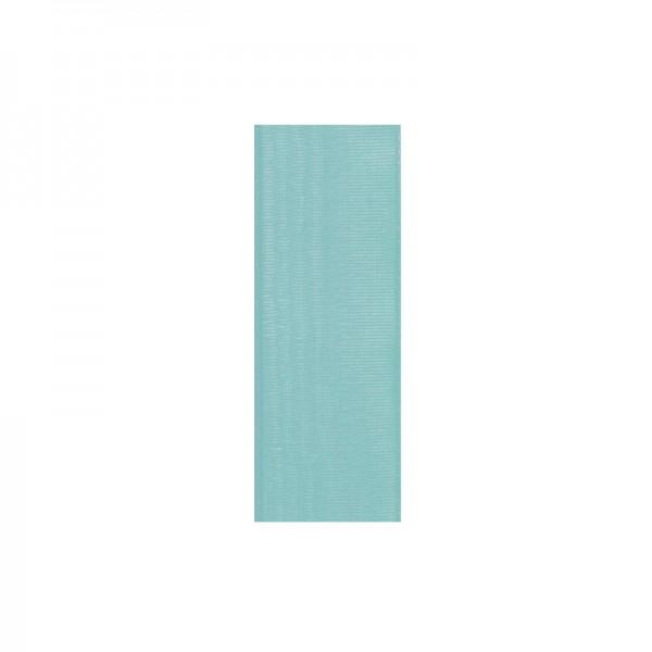 Chiffonband, 6mm breit, 10m lang - türkis