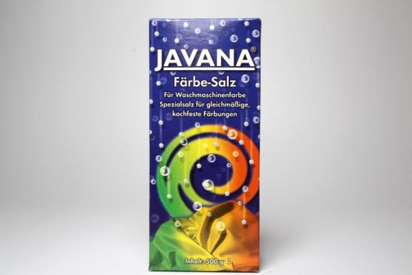JAVANA Färbe-Salz für Waschmaschinenfarbe, 500 g