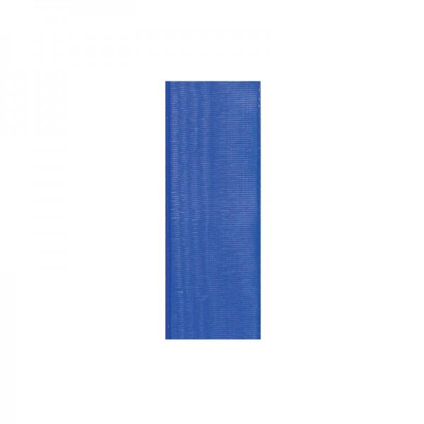 Chiffonband, 6mm breit, 10m lang - royalblau