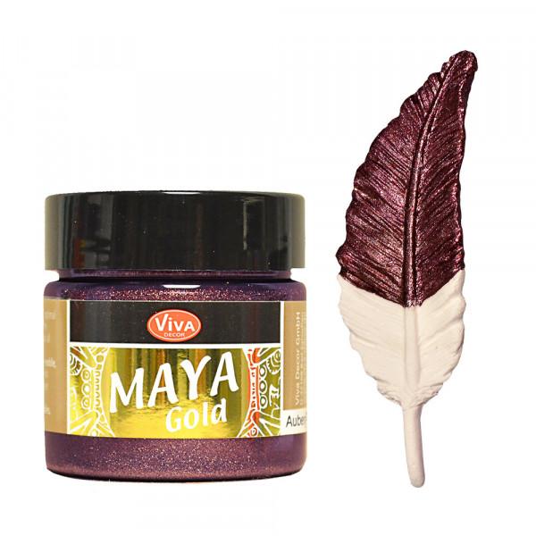 Viva Decor Maya Gold, 45 ml - Bordeaux