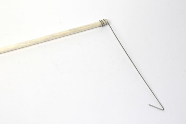 Laternenstab, aus Fichtenholz, 60 cm