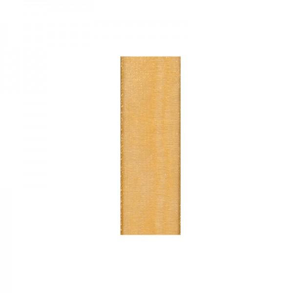 Chiffonband, 3mm breit, 10m lang - gold