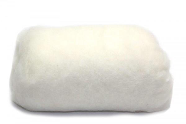 Merino-Filzwolle, im Vlies, 50 g, Perlweiß