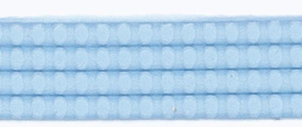 Wachsperlstreifen, 2mm, 20cm, 11 Stk., lichtblau