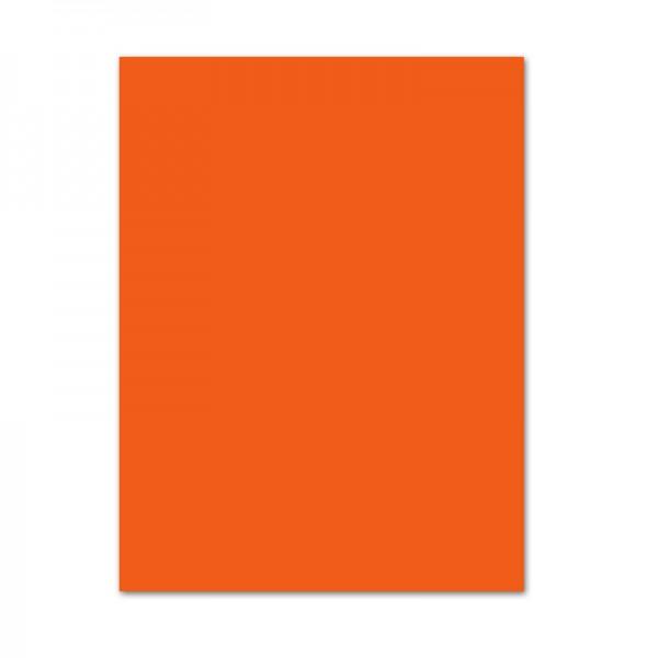 Tonpapier, 10er Pack, 130 g/m², 50x70 cm, hellorange