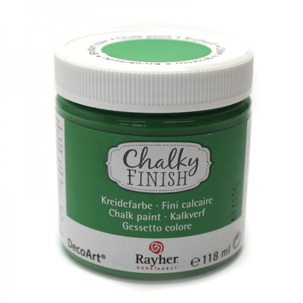 Chalky-Finish Kreidefarbe 118 ml - immergrün