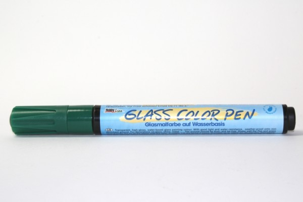 Hobby Line GLASS COLOR Pen, Dunkelgrün
