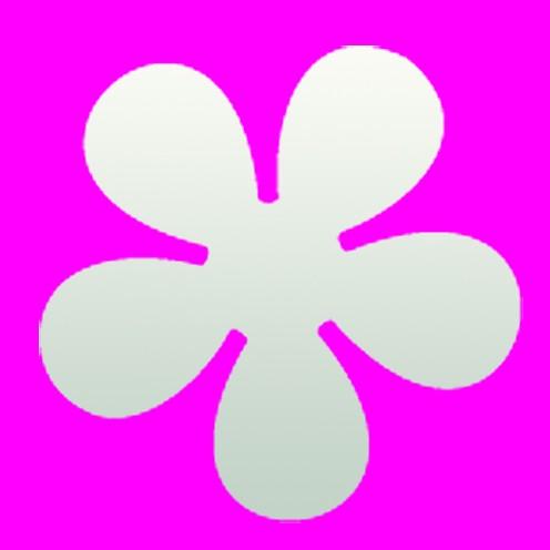 Stanzer Retro Blume, ca. 5 cm