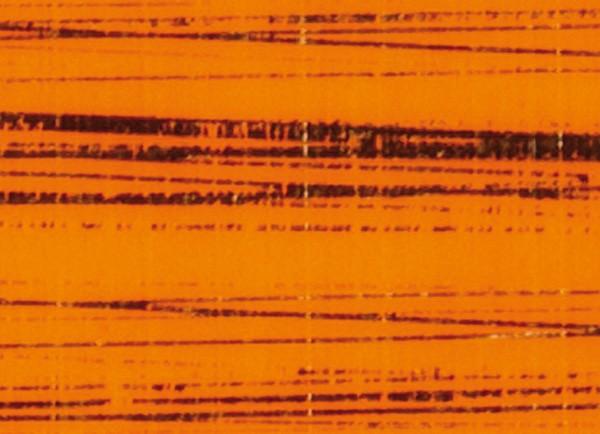 Verzierwachsplatte, gold gestreift, 200x100x0,5mm, orange