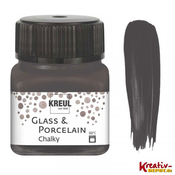 Glass & Porcelain Chalky - Volcanic Gray