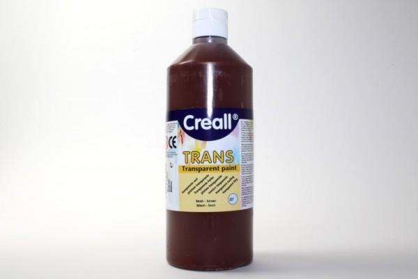 Creall-trans, transparente Farbe, 500 ml, braun