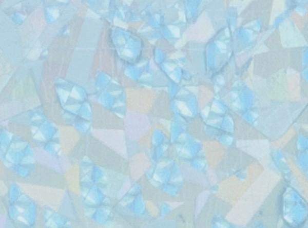 Verzierwachsplatten, flitter, 200x100x0,5mm, 10 Stück, hellblau