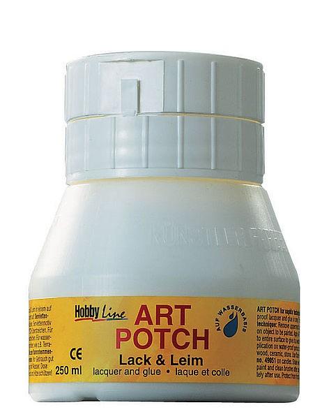 Serviettenkleber, ART POTCH Lack & Leim, 250 ml