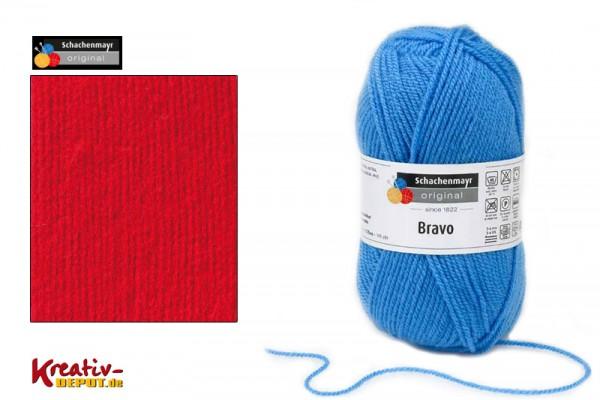 Schachenmayr Wolle - Bravo, 50g, scarlet