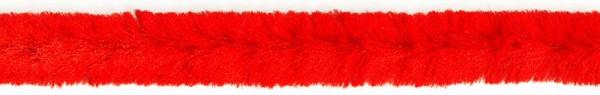 Biegeplüsch/Pfeifenputzer, 30 cm x 12 mm Ø, 8 St, rot