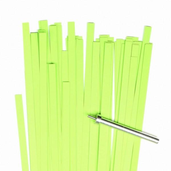 Quilling Papierstreifen, 5mm x 450mm, hellgrün