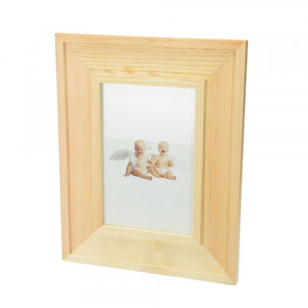 Bilderrahmen aus Holz, 18,5 x 23,5 x 1,2 cm