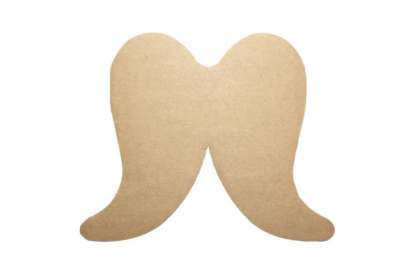 engelsflügel aus pappe 5 stück 16 x 13 cm  kreativdepot