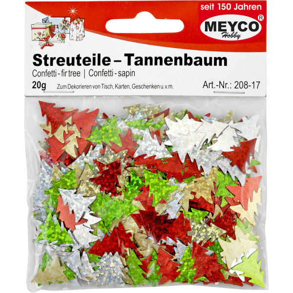 Streuteile Tannenbaum, 20g