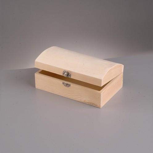 Holztruhe, 13x5x4,5 cm