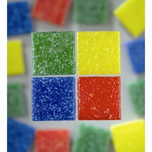 Efco Mosaik Glasstein pro, 10 x 10 mm, farbig sortiert