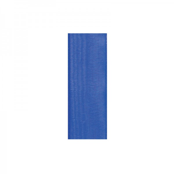 Chiffonband, 10mm breit, 10m lang - royalblau