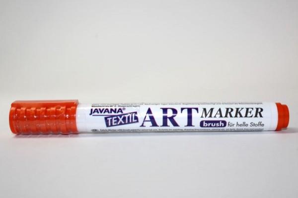 JAVANA TEXTIL ARTMARKER, Stoffmalstift, Orange