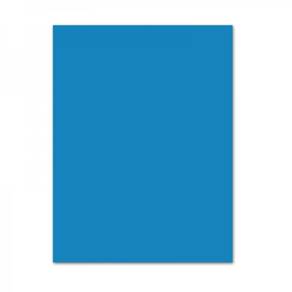 Fotokarton, 10er Pack, 300 g/m², 50x70 cm, mittelblau