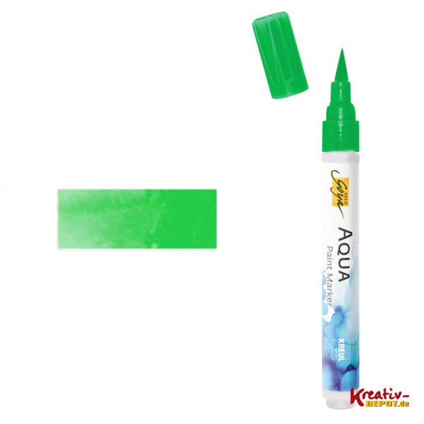 Aqua Paint Marker - Gelbgrün