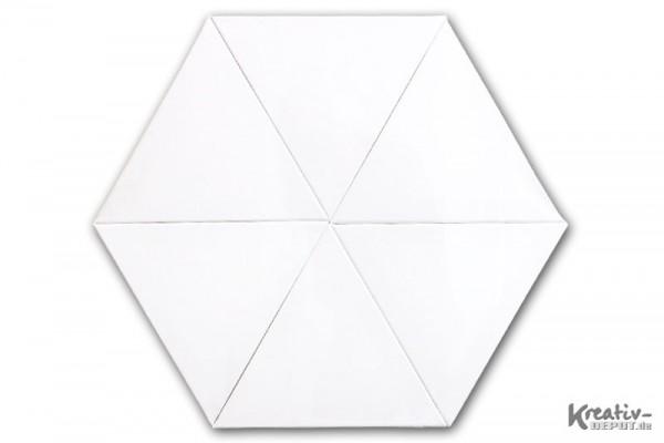 Keilrahmen Dreieck 6er Set- ca. 30 x 30 cm