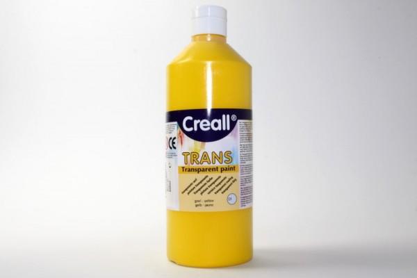 Creall-trans, transparente Farbe, 500 ml, gelb
