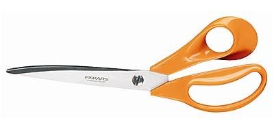 Fiscars Classic-Scheren orange, Profi Stoffschere, 23,5 cm