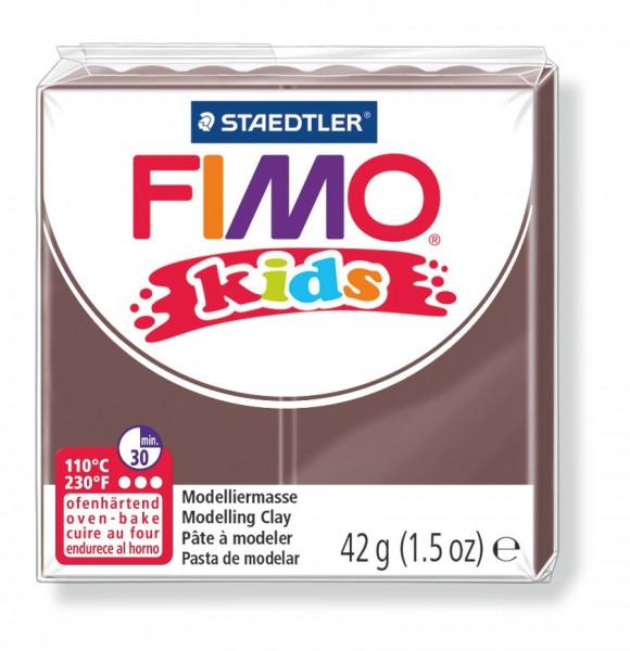 FIMO kids, Modelliermasse, 42 g, braun