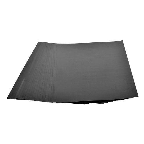 Schrumpffolie, mattiert, schwarz, 20x30cm