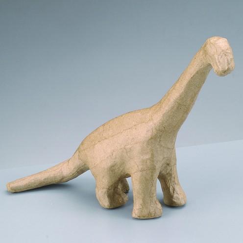 Dino, aus Pappmachè, 18 x 5 x 16 cm