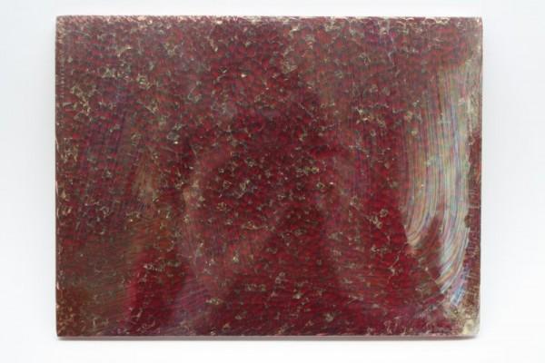 Crackle Mosaik-Platte, 15 x 20 cm, 4 mm, rot glänzend