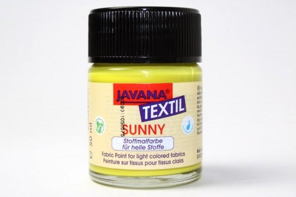 JAVANA TEXTIL SUNNY, für helle Stoffe, 50 ml, Citron