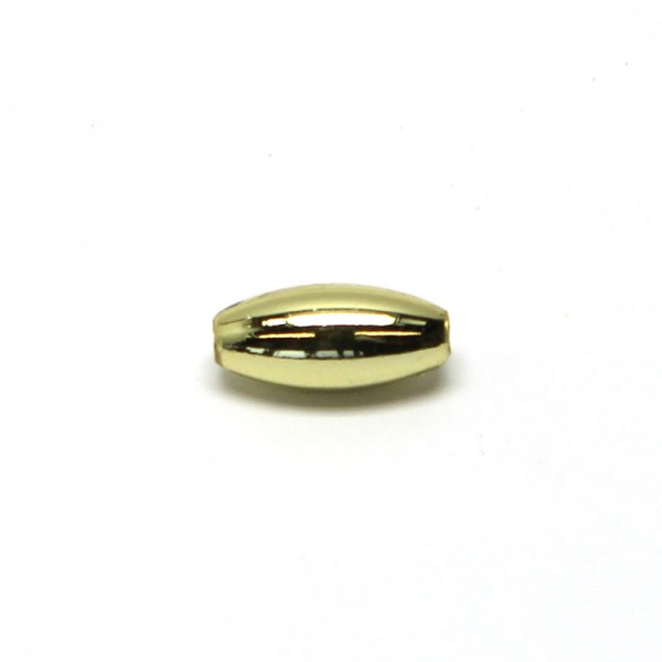 Wachsoliven 5 x 10 mm - gold, 600 Stk.