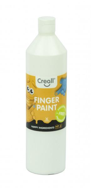 Creall-Fingermalfarbe HAPPY INGREDIENTS, 750 ml, weiß