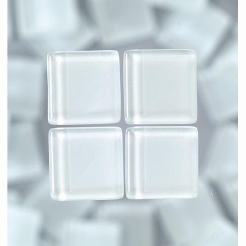 Efco Mosaik Glasstein soft, 15 x 15 mm, weiß