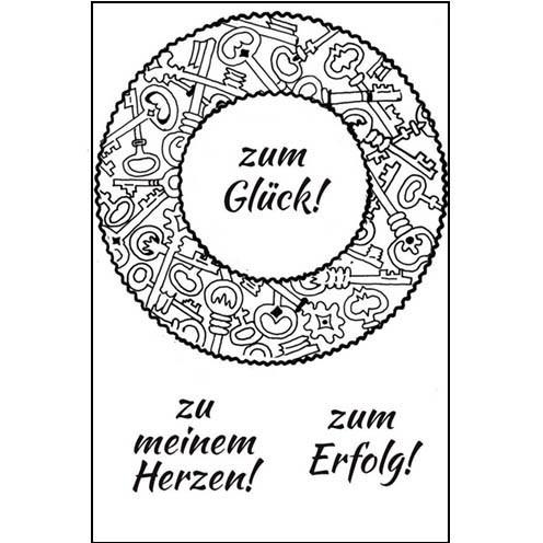Clear Stamps - Schlüssel 02