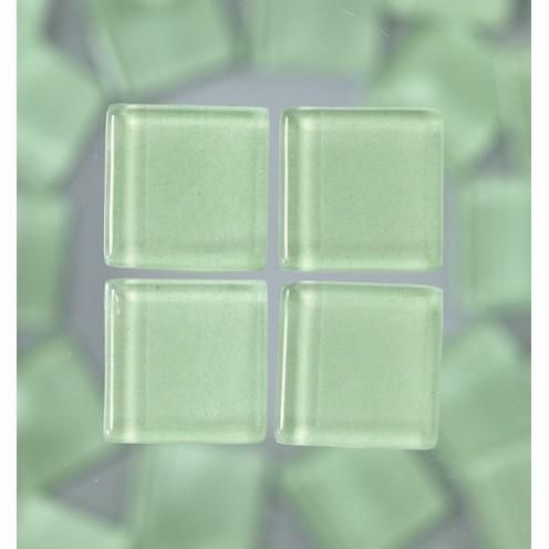 Efco Mosaik Glasstein soft, 10 x 10 mm, hellgrün