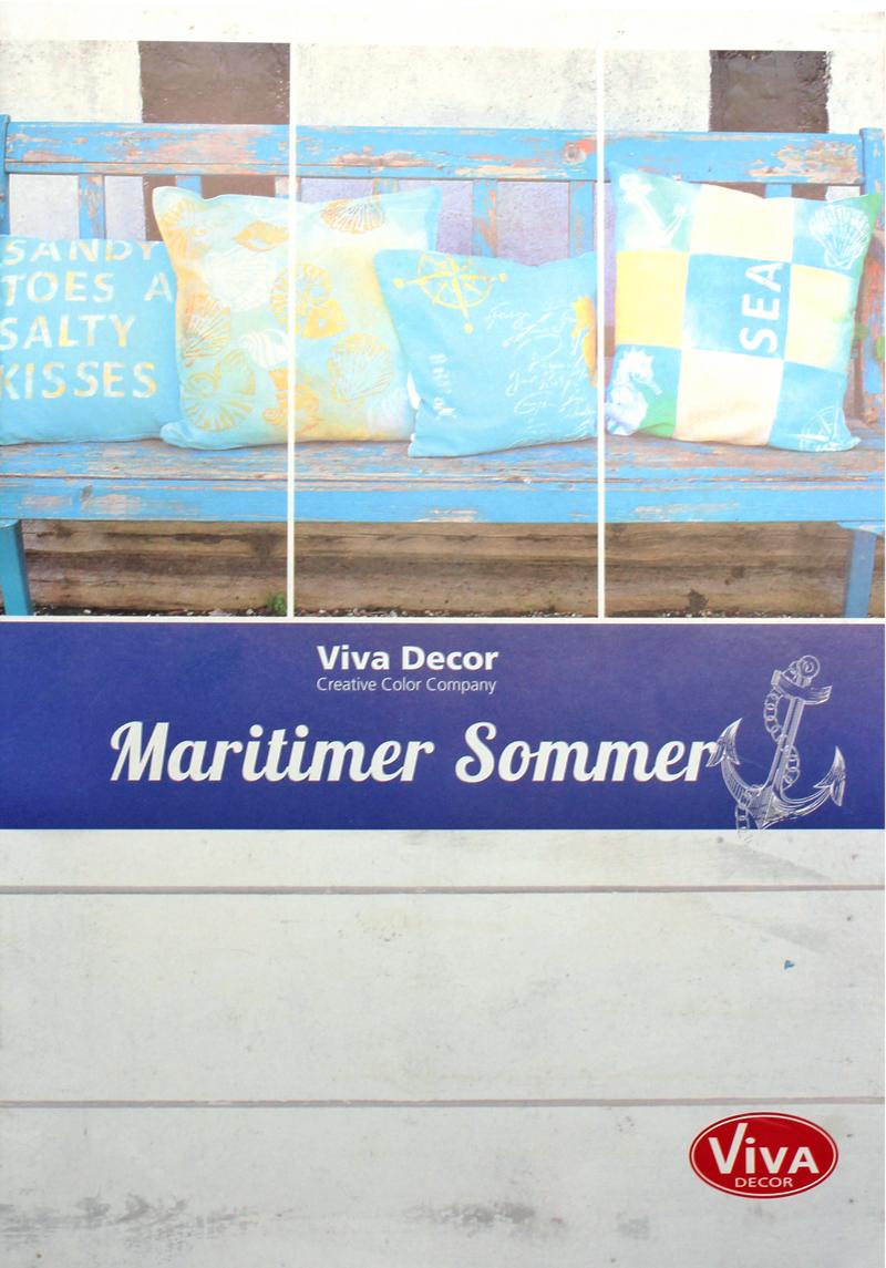 brosch re maritimer sommer kreativ depot. Black Bedroom Furniture Sets. Home Design Ideas