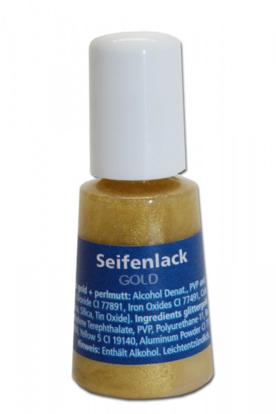 Seifenlack, 4 ml, gold