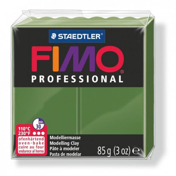 FIMO professional, Modelliermasse, 85 g, olivgrün