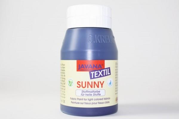 JAVANA TEXTIL SUNNY, für helle Stoffe, 500 ml, Dunkelblau