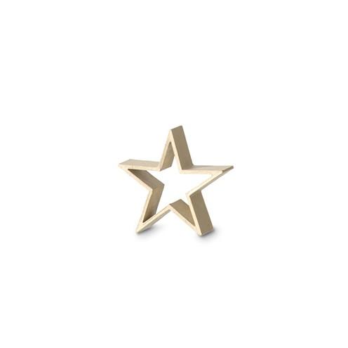 Pappmache Stern Rahmen 12,5 x 12,5 x 4 cm