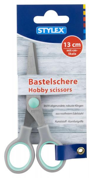 Bastelschere, rund, 13 cm